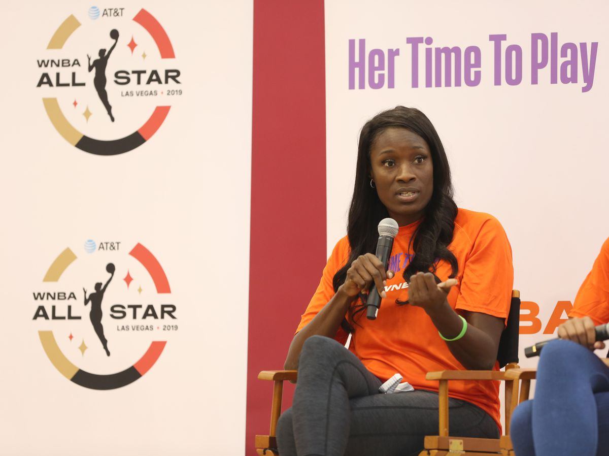WNBA Her Time to Play Clinic presented by AT&T
