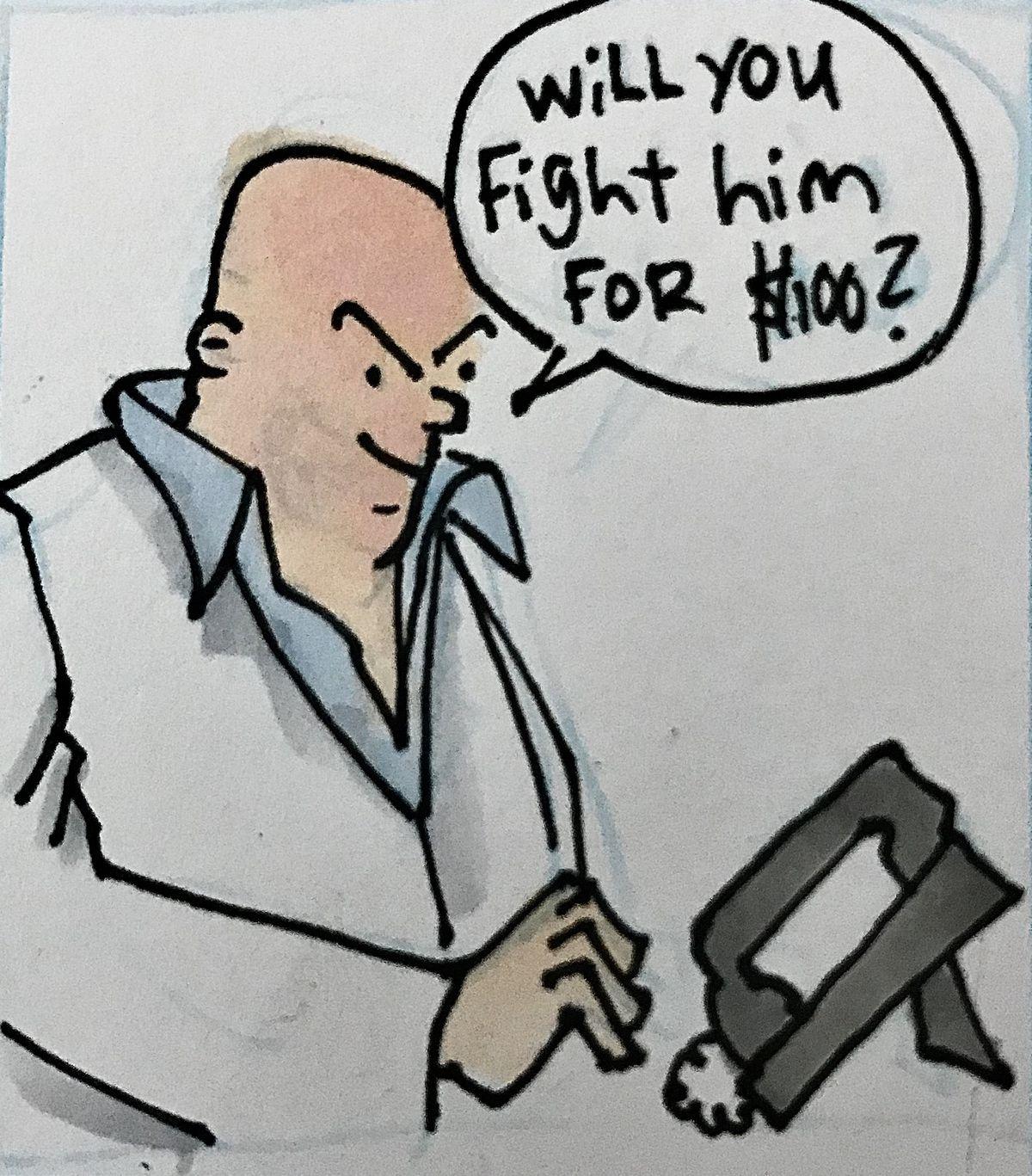 Chris Rini, MMA Squared, Khabib Nurmagomedov, Conor McGregor, Khabib vs Conor, 100 Million MMA, Dana White,