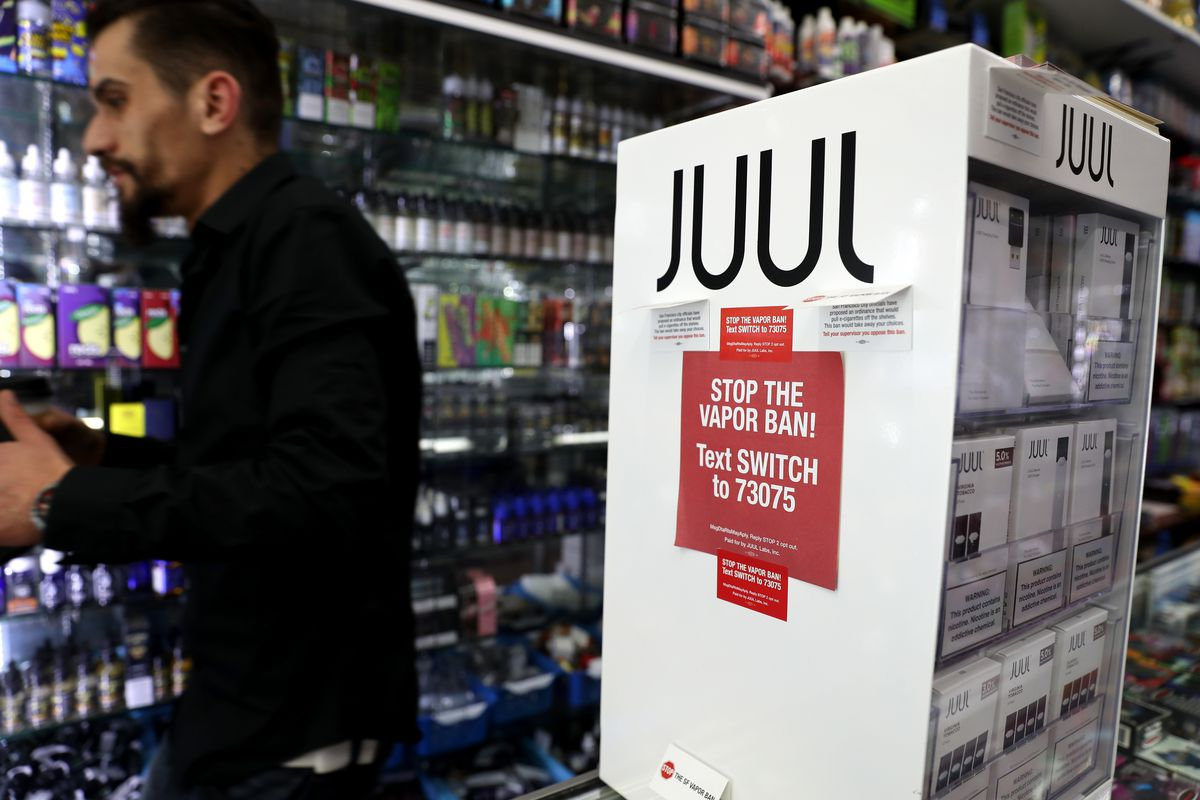 San Francisco moves to ban e-cigarettes like Juul - Vox