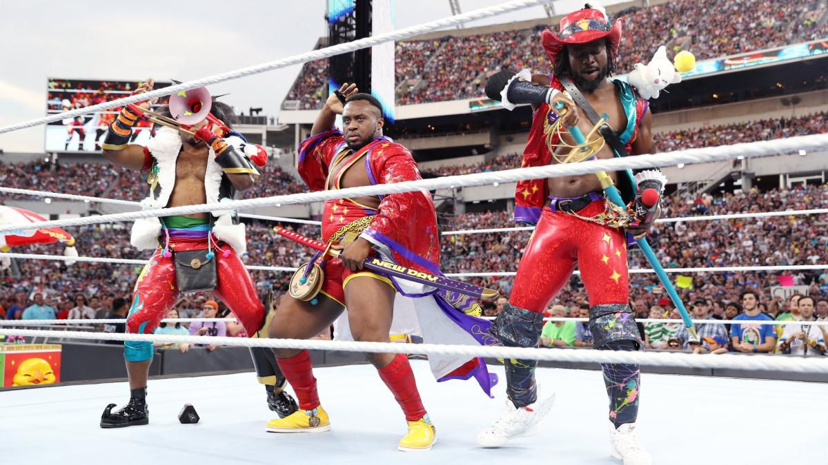 new day gyrating in cosplay
