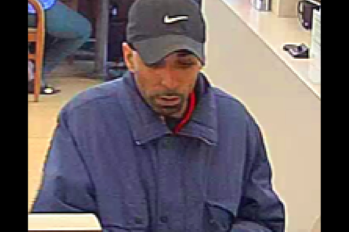 Authorities say this man robbed a bank in Evanston on June 20, 2019.