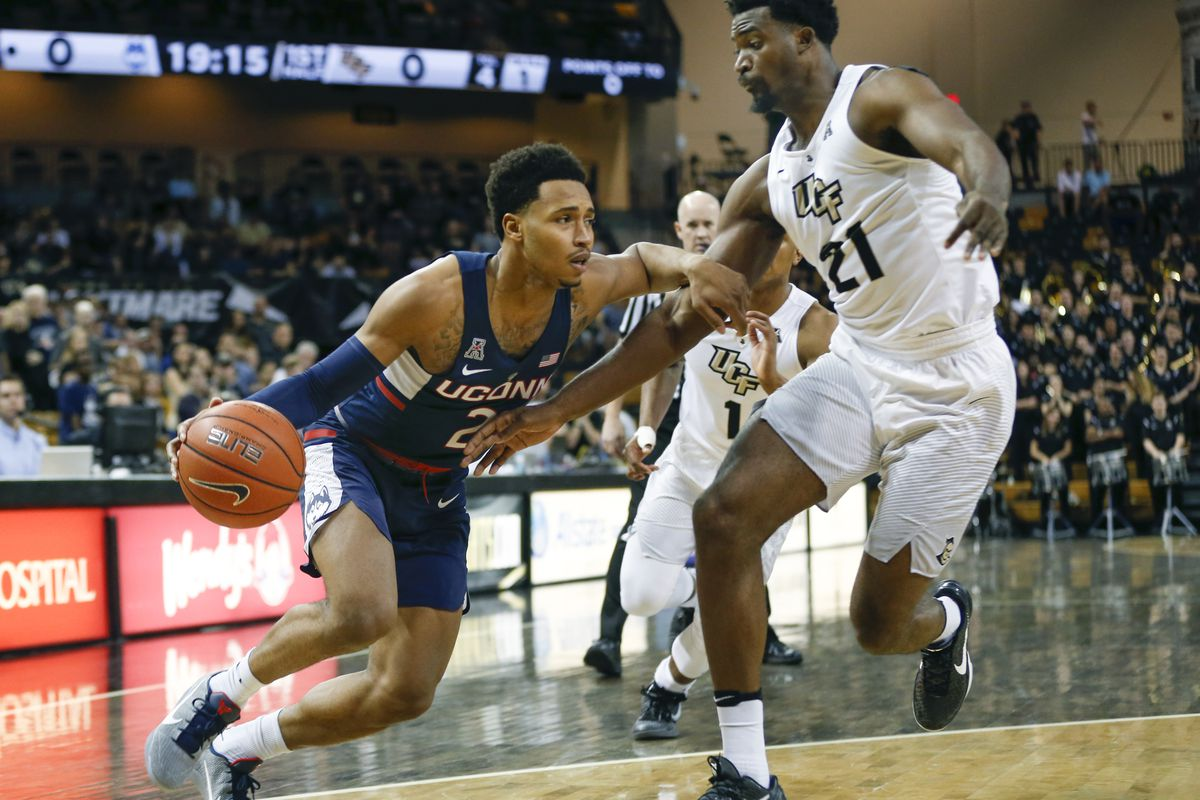 NCAA Basketball: Connecticut at Central Florida