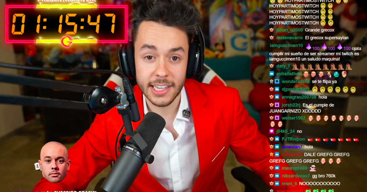Spanish Fortnite streamer TheGrefg has broken the individual record for highest concurrents on Twitch