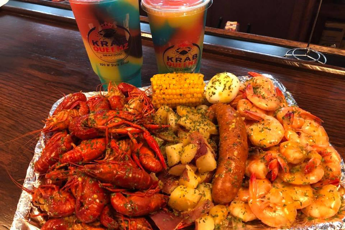 spicy butter drenched seafood is en route from louisiana eater