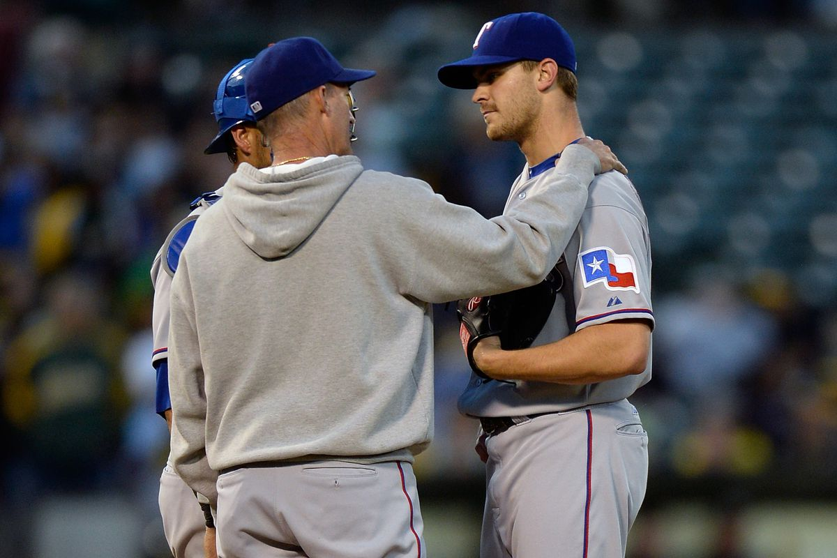 Not even the Maddux shoulder rub could save Grimm last night