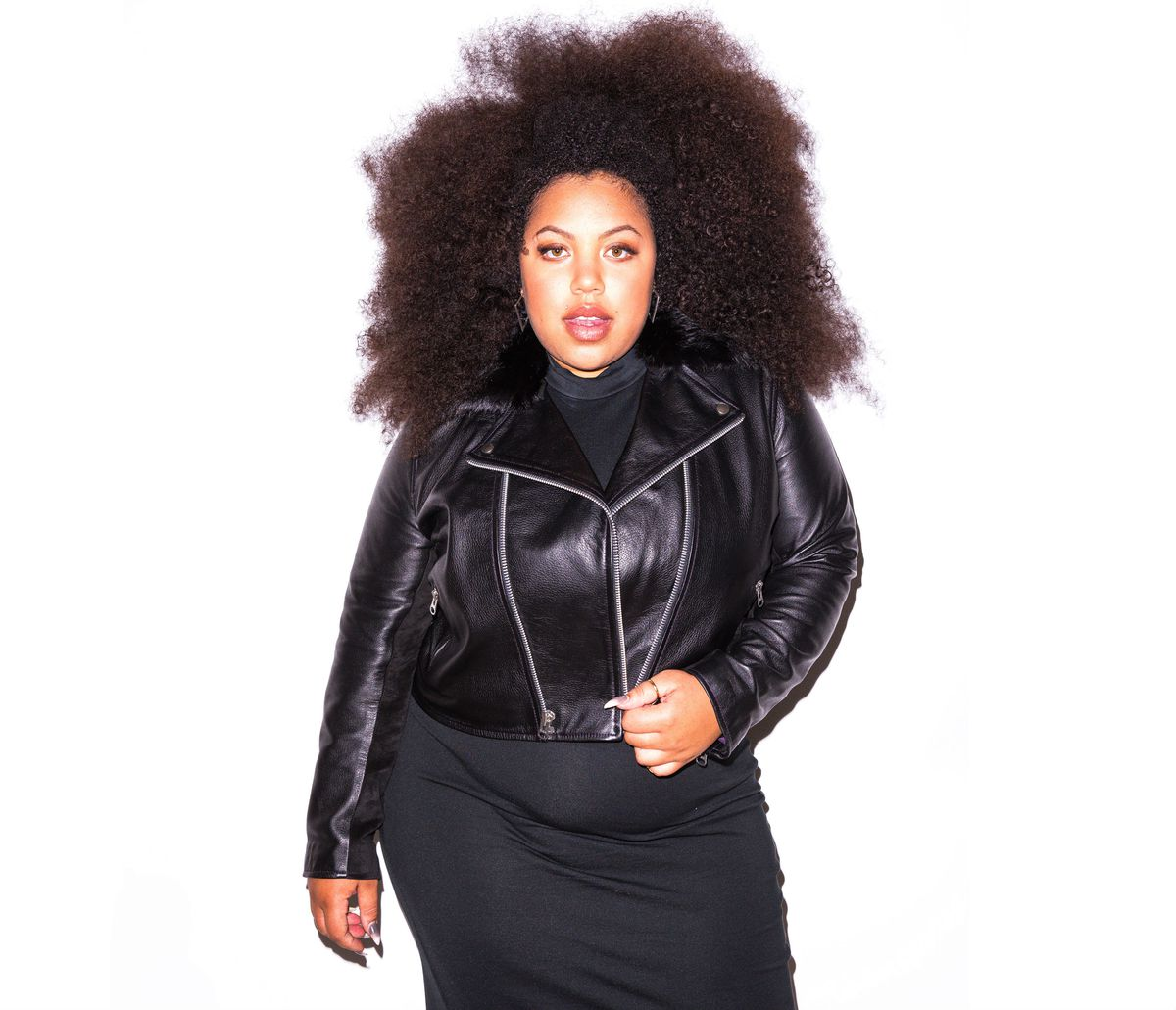 713f29803bb Meet the Designer Making the Best Plus-Size Leather Jackets - Racked