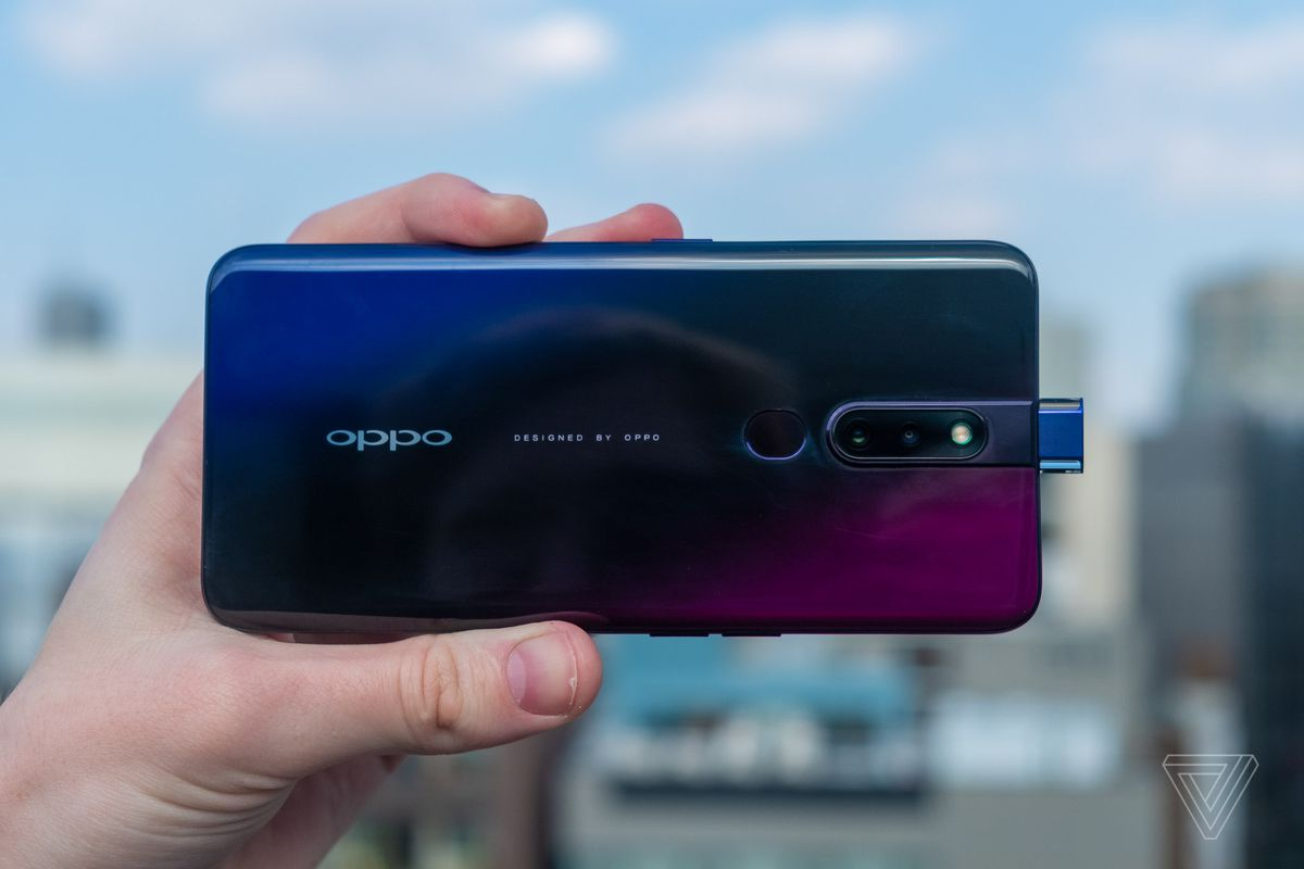 oppo announces the f11 pro with popup selfie camera and