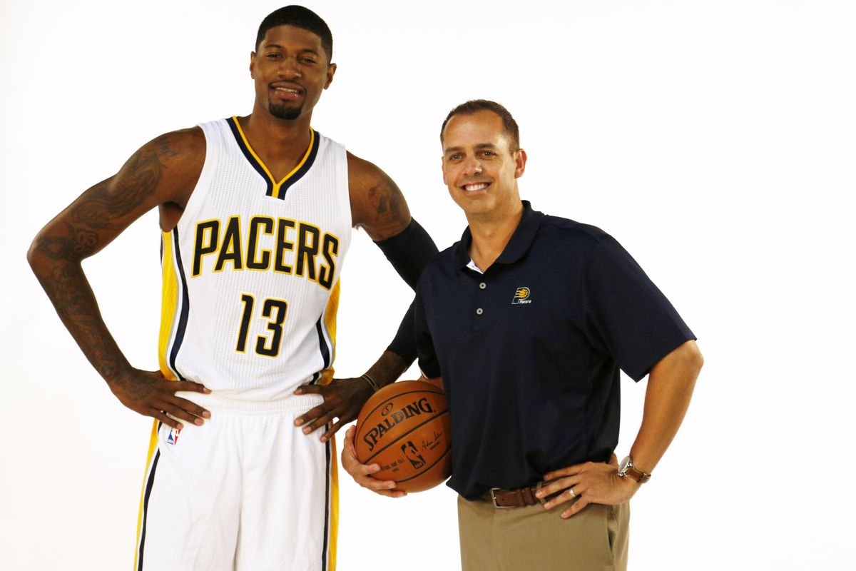 """""""Paul, you can play a few minutes at 2-guard if you go over there and smile with Vogel."""""""