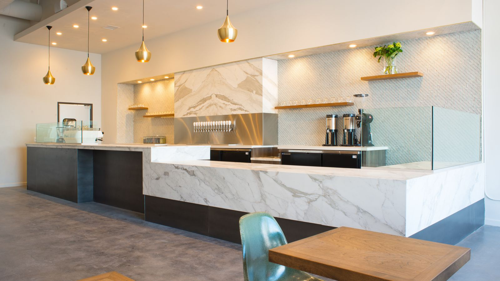 Holsem Coffee Blends High Design With Wholesome Eats & Fun Drinks - Eater San Diego