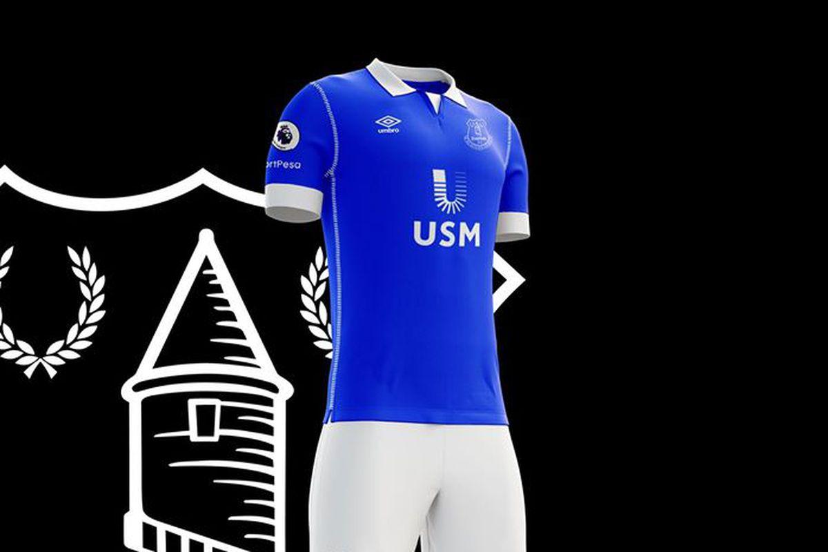 Everton fan goes on new kit design spree - Royal Blue Mersey 5f0444f76