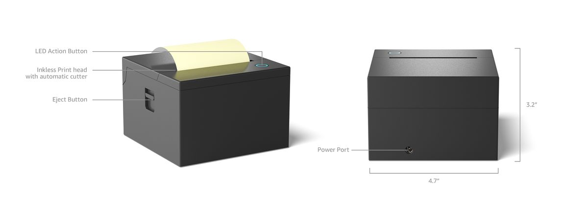 Amazon sticky note printer