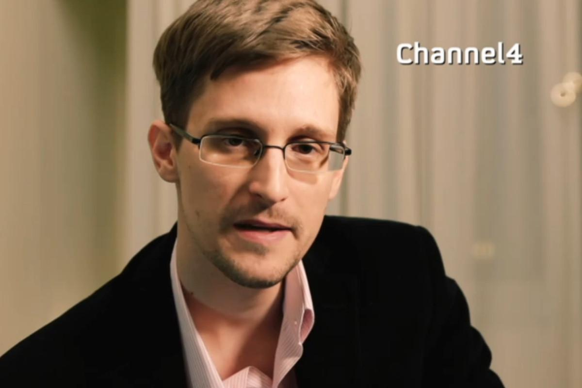 Edward Snowden Channel 4
