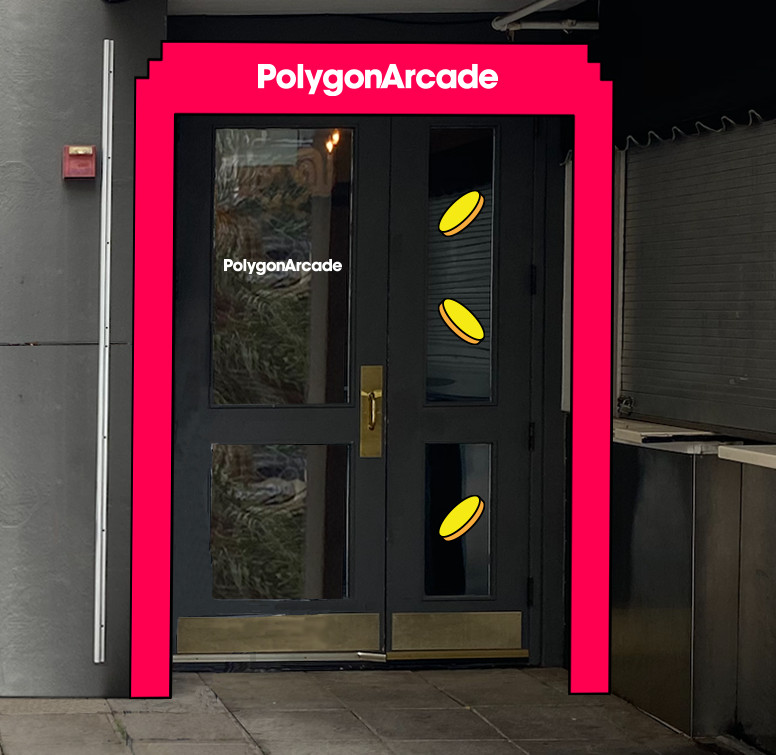 Polygon Arcade Entrance