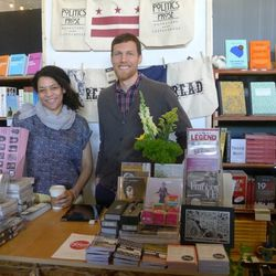 """Thread was a home away from home for local book shop <a href=""""http://www.politics-prose.com"""">Politics & Prose.</a> This was one of the few pop-up shops Politics & Prose has ever done, and they even built a little kids' play area."""