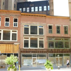 """What the storefronts looked like last August via <a href=""""http://vanishingnewyork.blogspot.com/2011/08/everyday-chatter.html"""">VNY</a>"""