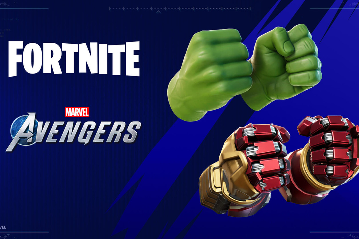 Hulk Hands crossover event for Fortnite and Marvel's Avengers
