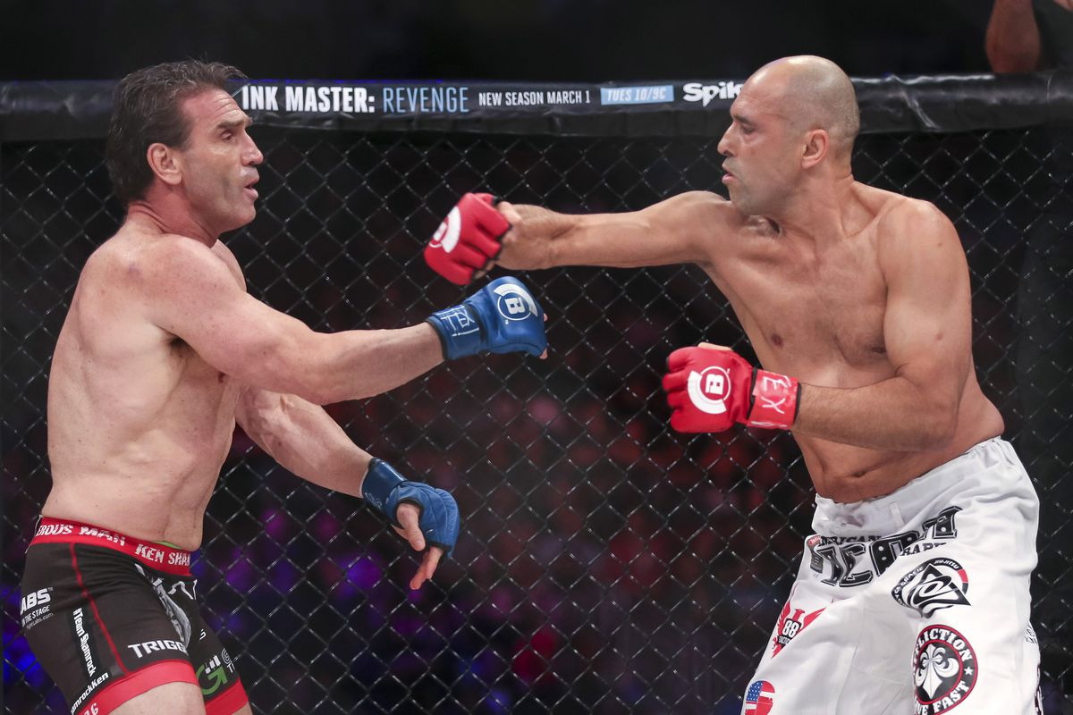 bellator 149 results royce gracie controversially tkos ken