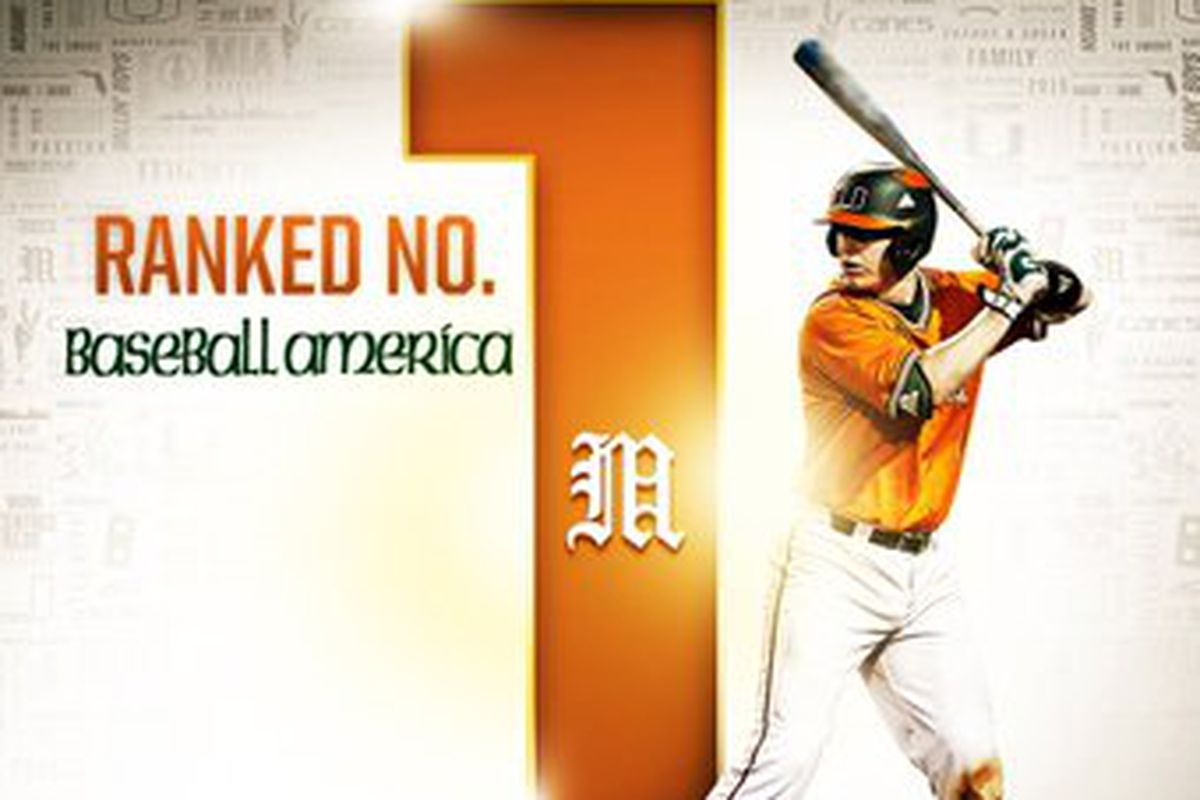 Canes Baseball is #1!!!