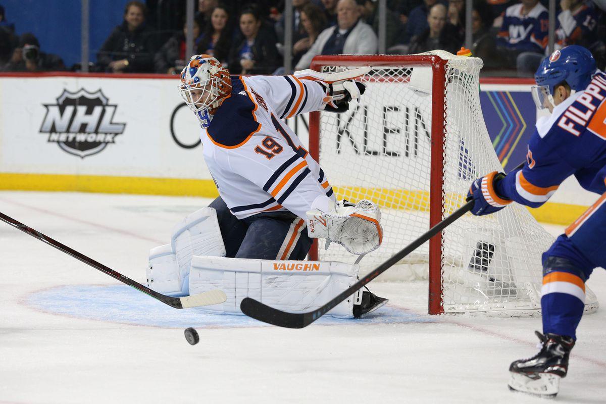 NHL: Edmonton Oilers at New York Islanders