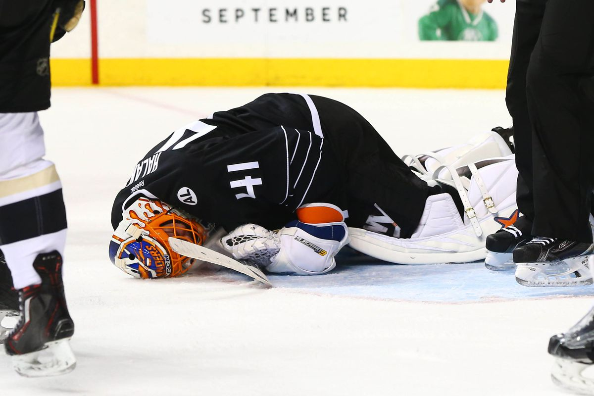 Get better, man. You can never have enough goalies.