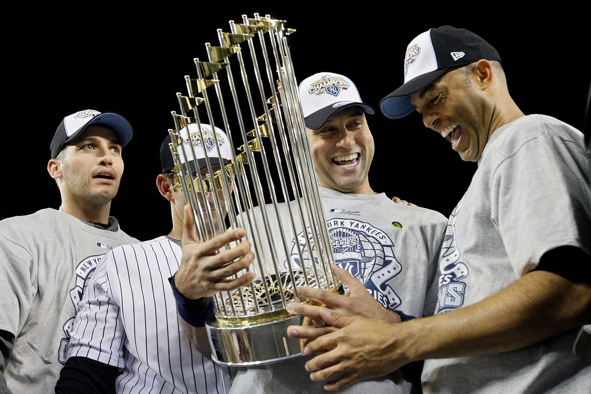 Two members of the Core Four were selected in later rounds of the MLB Draft. Andy Pettitte (22nd round) and Jorge Posada (24th round) were both picked by the Yankees in 1990. What about Derek Jeter and Mariano Rivera? Jeter was drafted by the Yankees in t