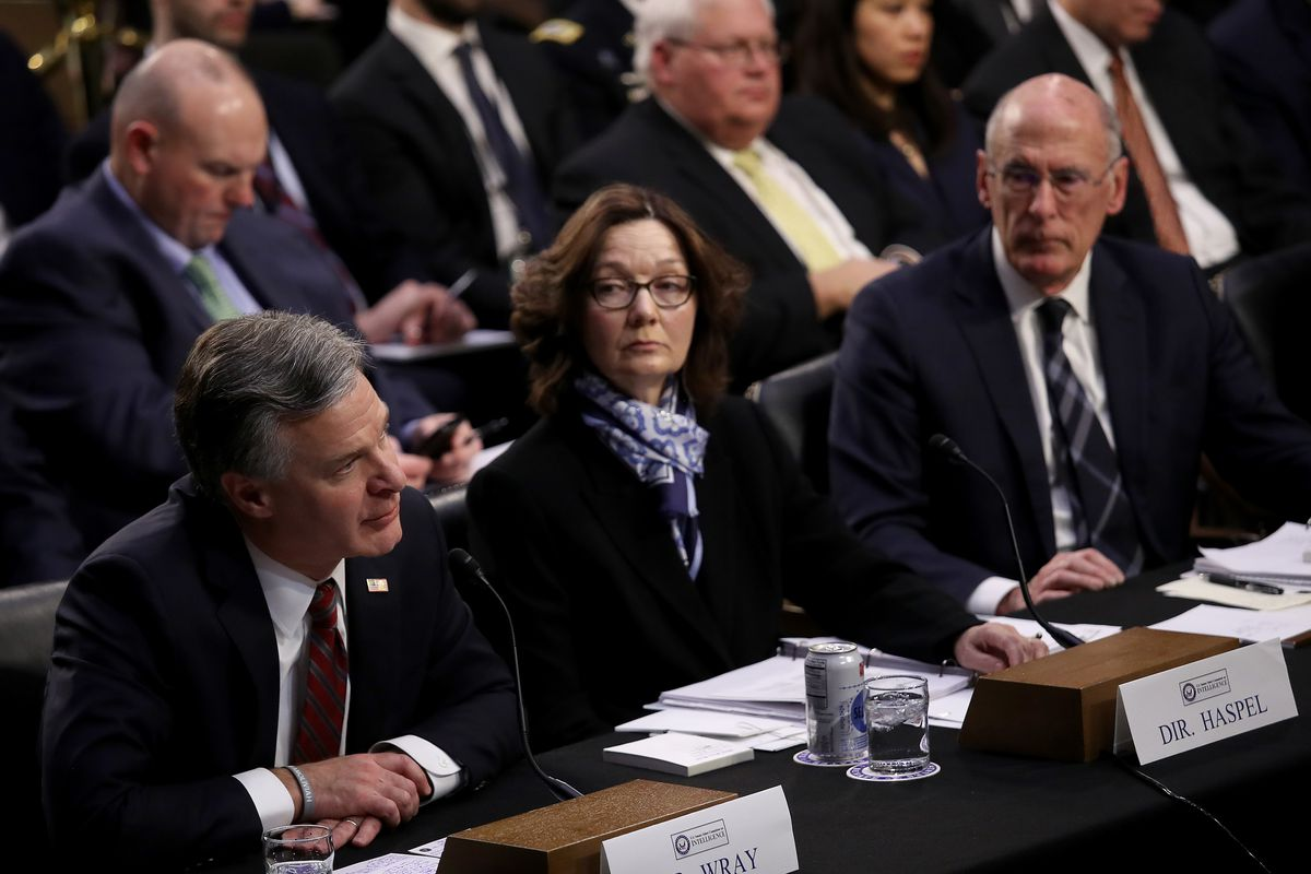 Image result for January 29, 2019 Senate Intelligence Committee hearing on worldwide threats