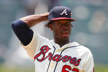 29c99e0d9 Acuña backs up Touki s stellar debut in 9-1 rout of the Marlins