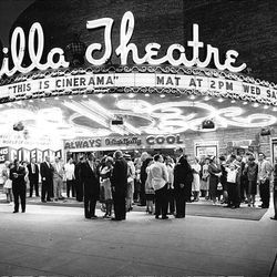 Movie theaters have a long, rich history in the Salt Lake