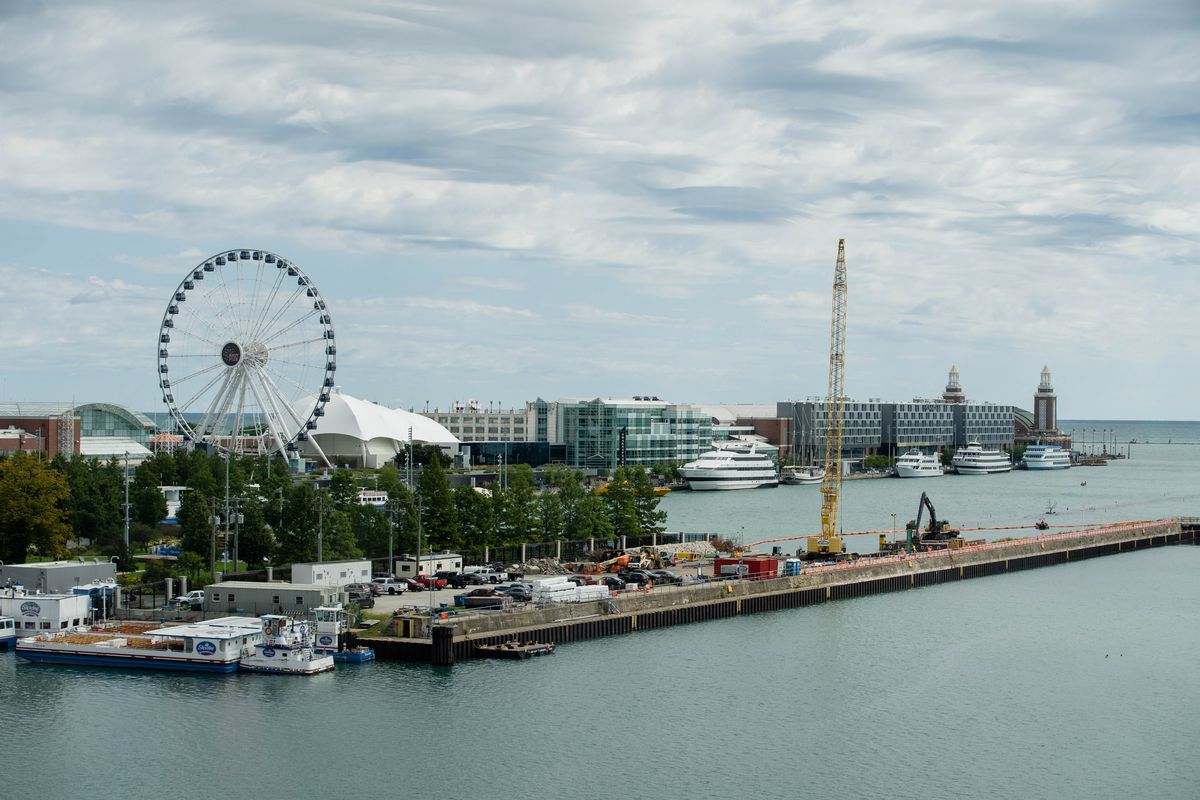 Navy Pier was shut down last Sept. 8 to minimize the financial losses it faced as people stopped going there during the pandemic. That had a big impact on the sales-tax revenues that governments rely on.