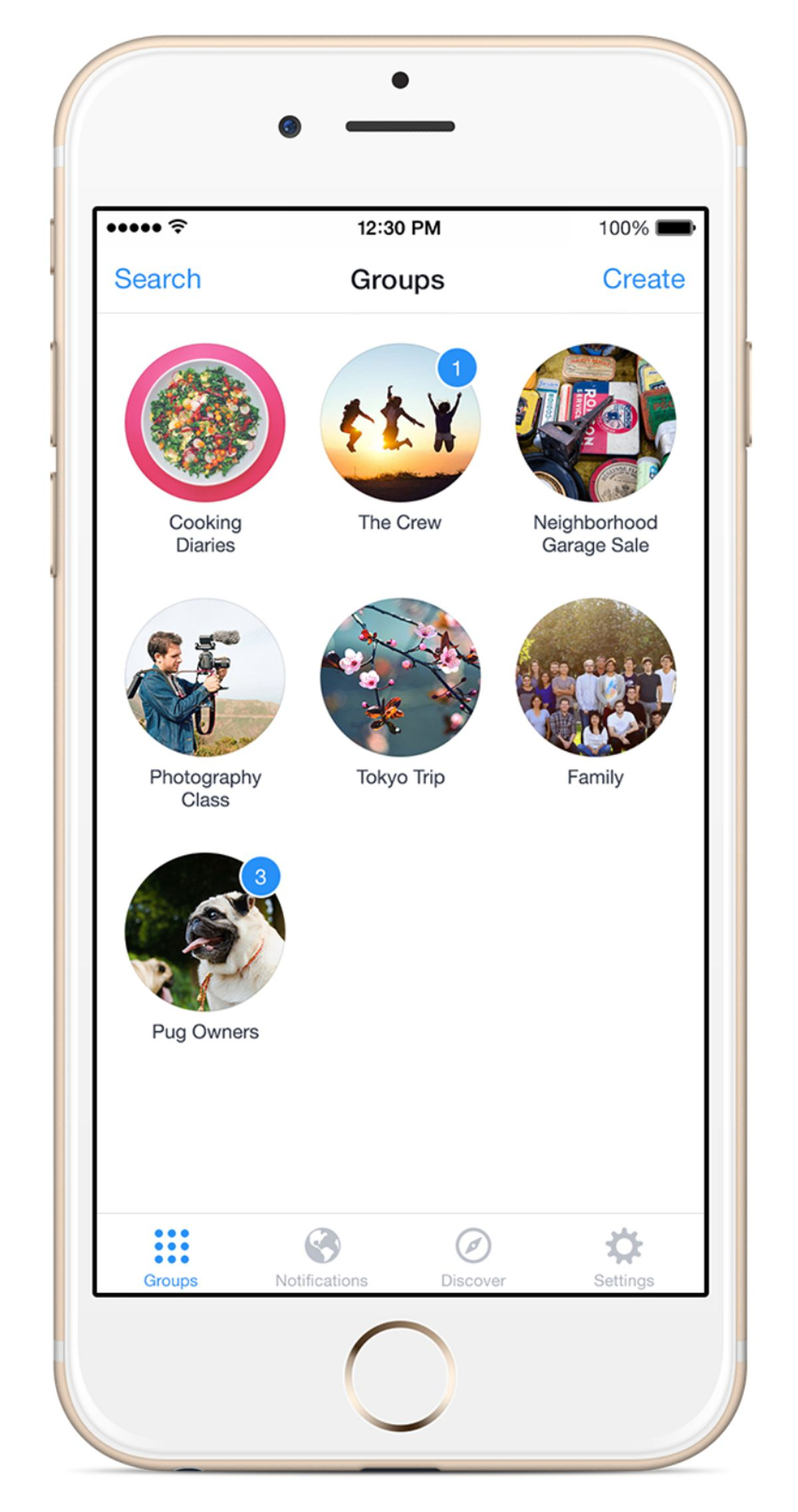 Facebook Unveils Another New App, This One for Groups