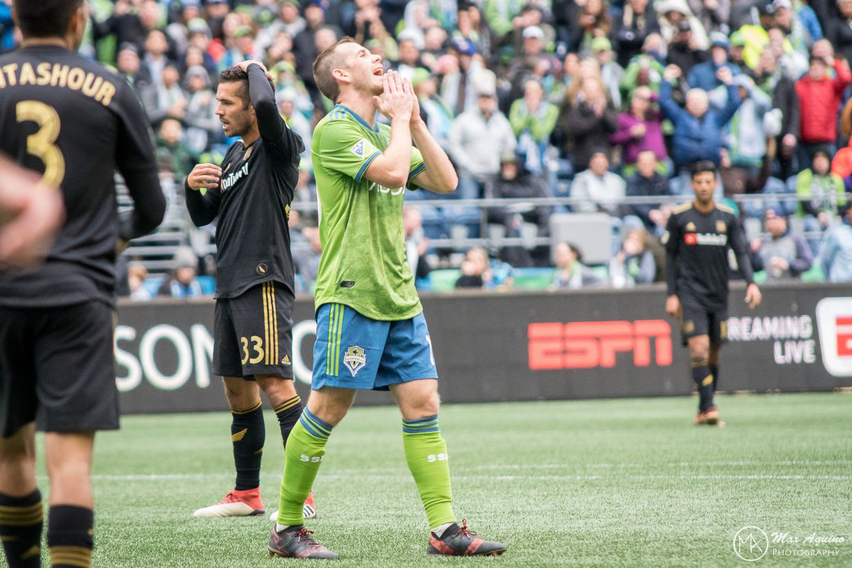 cc33eb4f533 Sounders vs. LAFC, recap: Seattle drops opener despite dominating ...