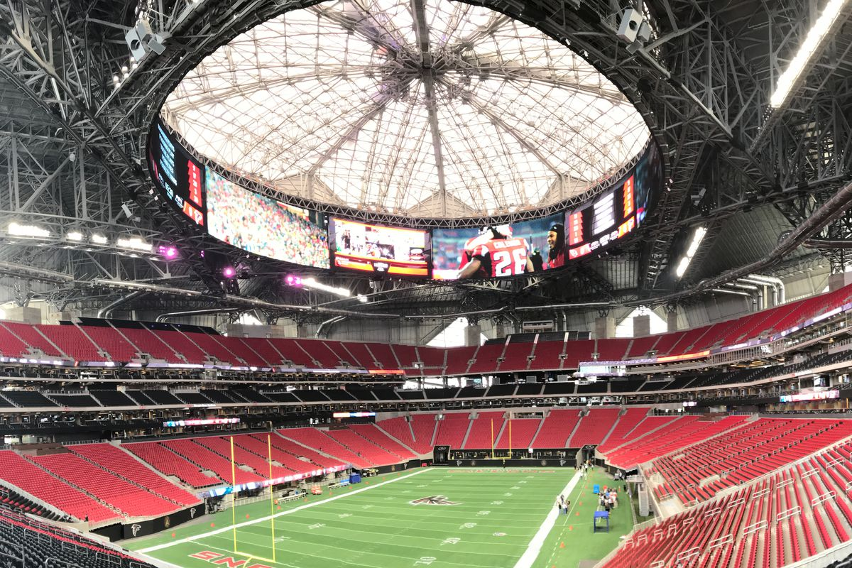 thoughts from the mercedes benz stadium media tour dirty