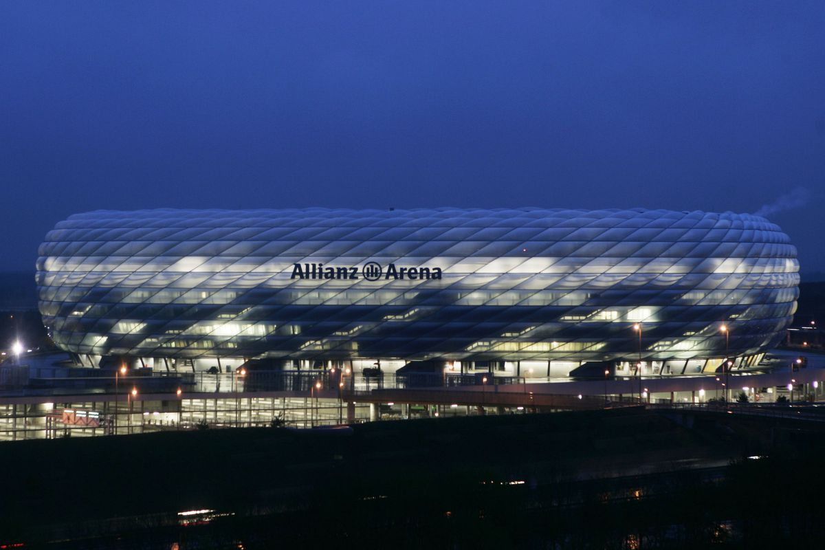 Allianz Arena Nears Completion