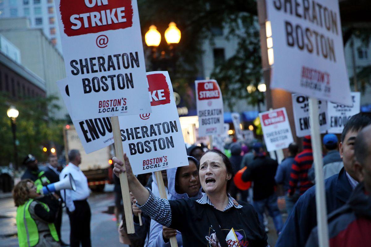 Marriott strike: nearly 8,000 Marriott workers are on strike in 8
