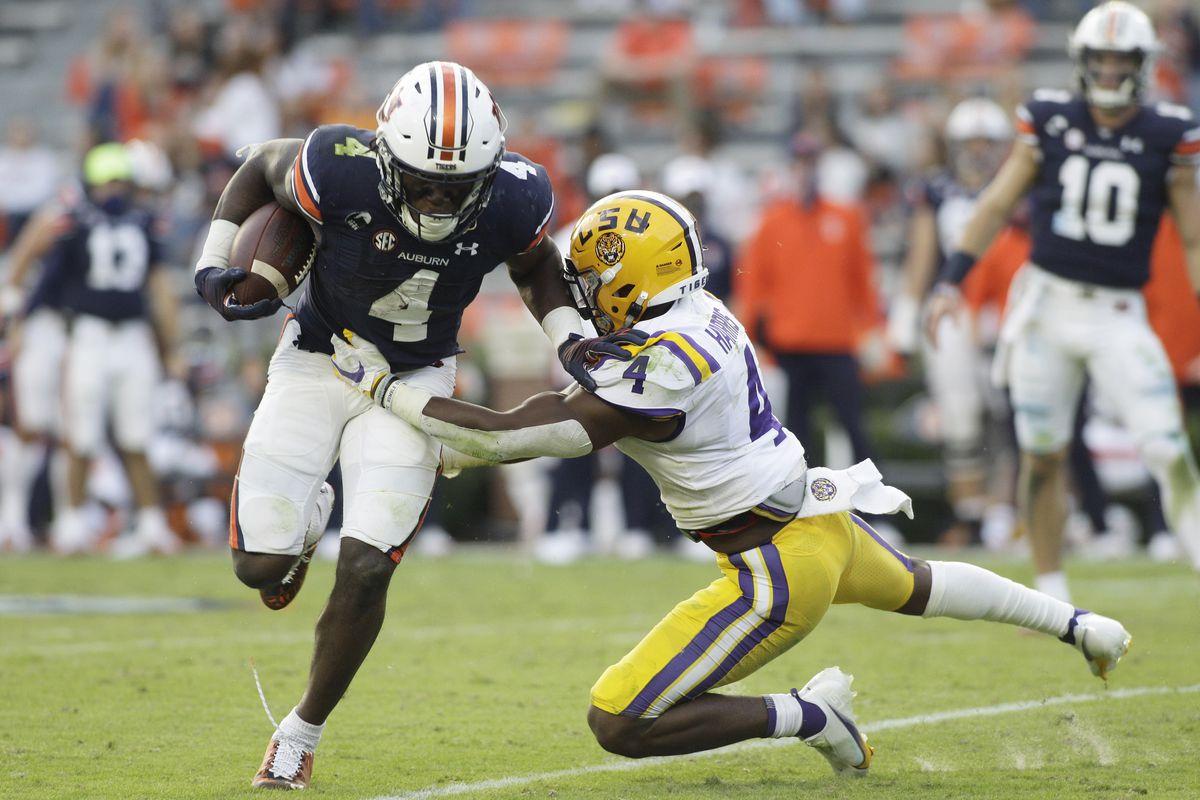 NCAA Football: Louisiana State at Auburn