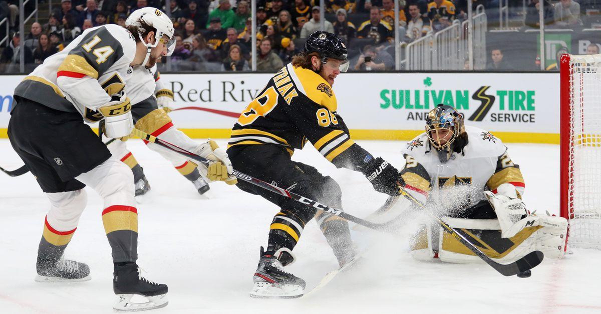 Bruins 3, Golden Knights 2: Vegas blows third-period lead heading into All-Star Break