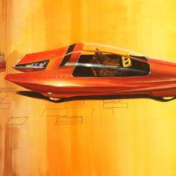 "Wayne Cherry, ""Runabout"" Design Concept, C. 1964"