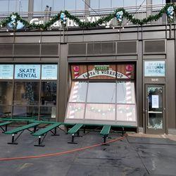 Santa's Workshop and skate rental shop