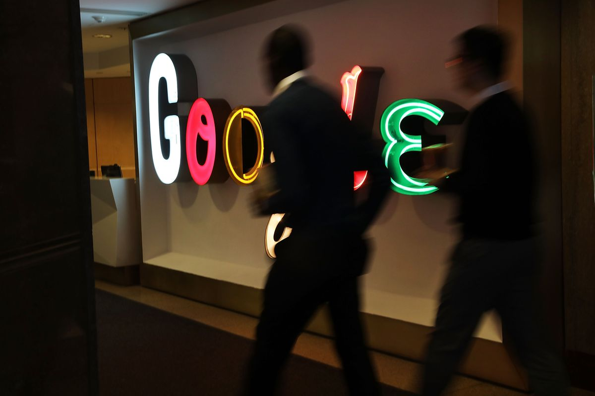 Google employees are seeing ads urging them to make search