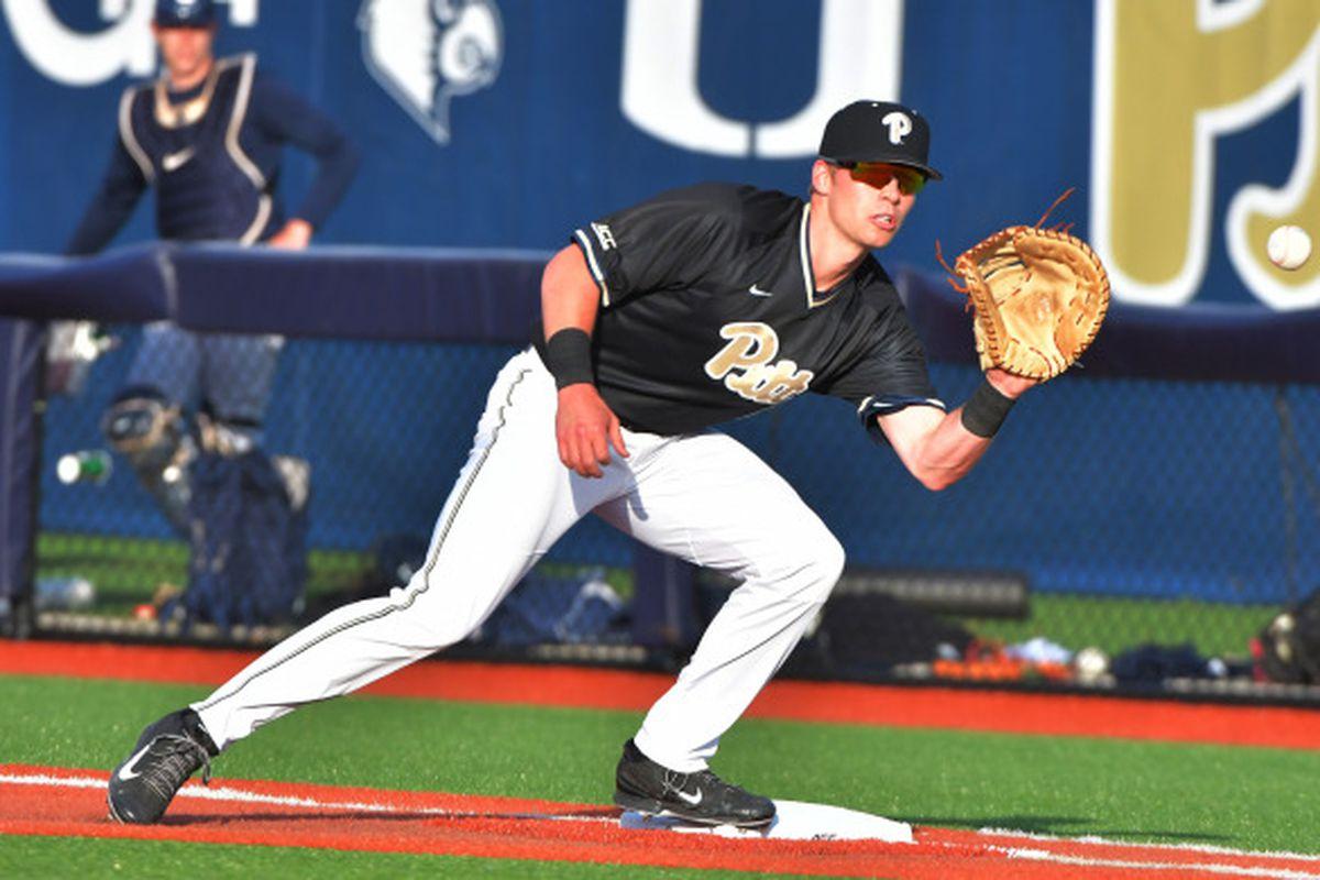 pitt baseball wins series with siu edwardsville cougars - cardiac hill