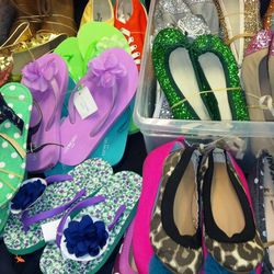 Kids shoes, ballet flats for $30