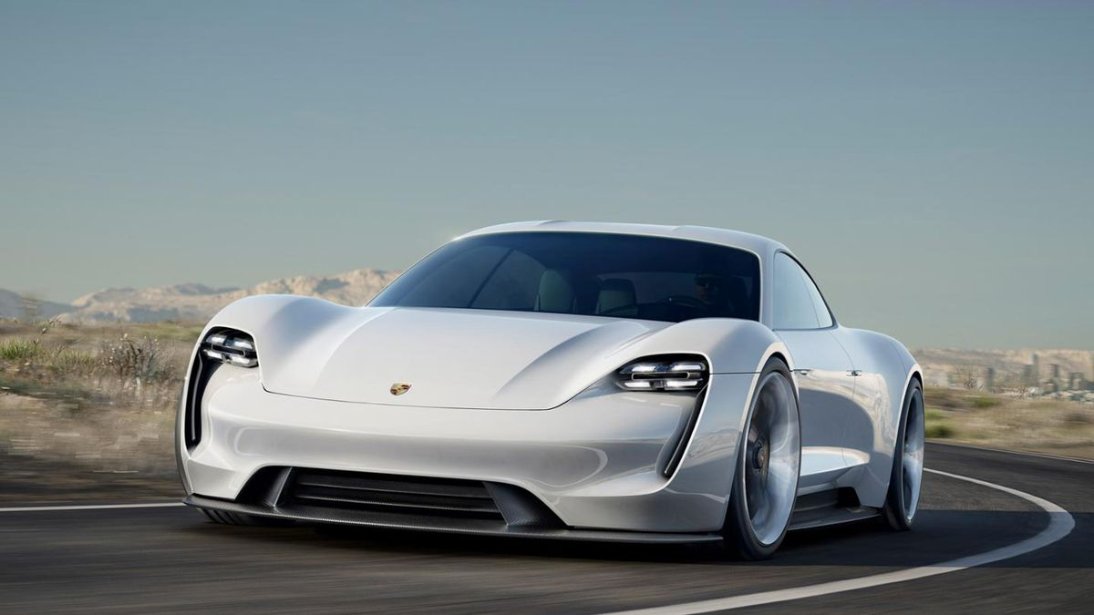 Porsche Mission E Announced An Electric Sports Sedan That Charges Faster Than A Tesla