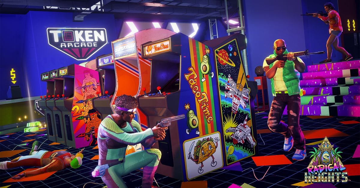 Radical Heights does cool things that PUBG and Fortnite aren't