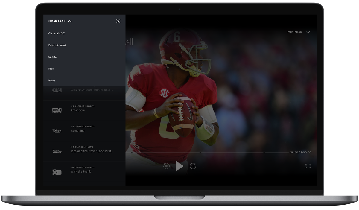 Hulu adds a simple, straightforward channel guide to live TV