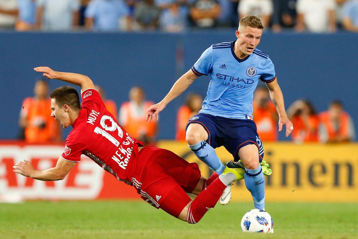 MLS: New York Red Bulls at New York City FC