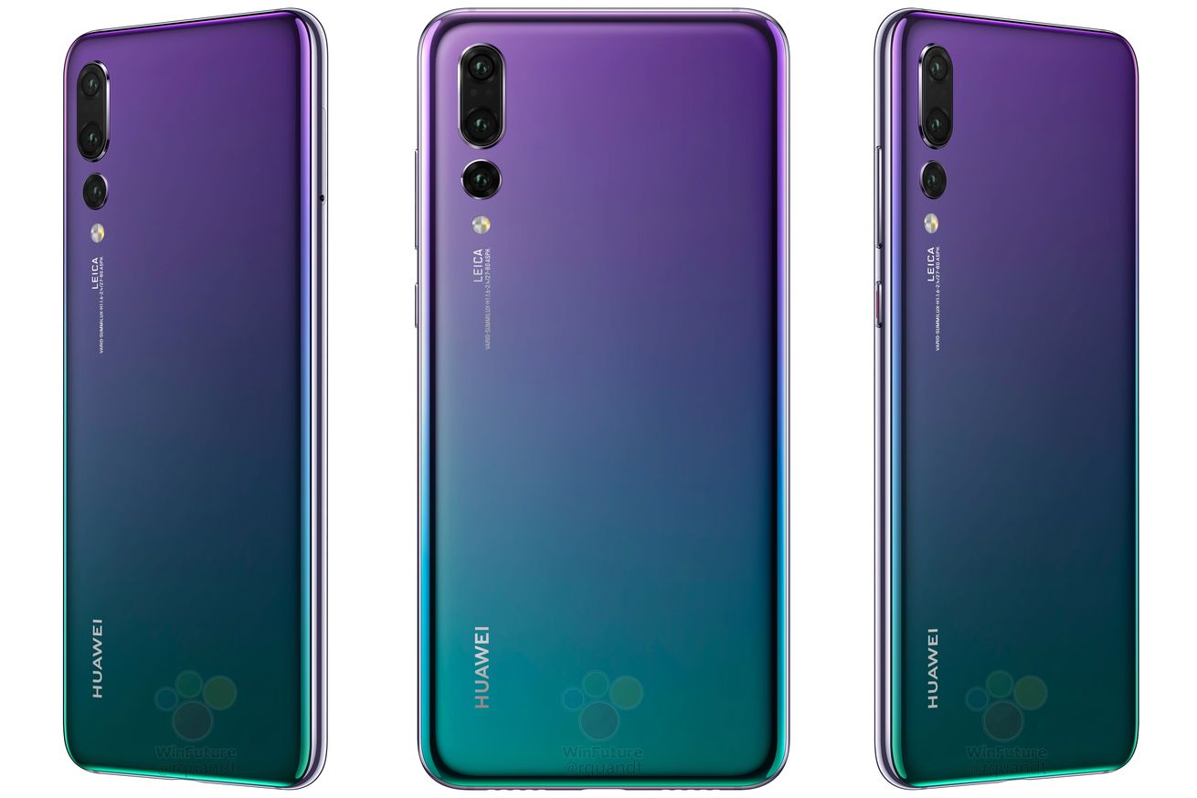 huawei p20 and p20 pro prices in europe leak