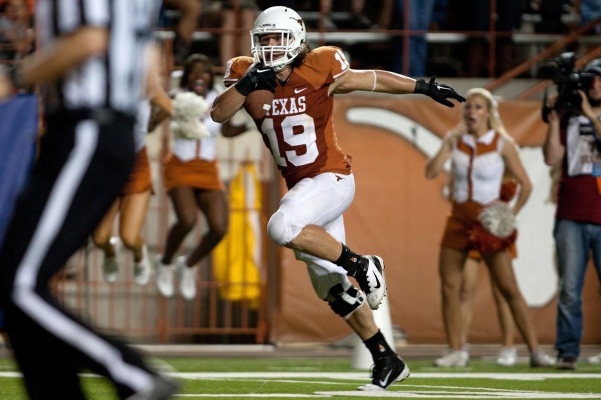 Blaine Irby's 2008 injury left a void at the tight end position from which UT still hasn't completely recovered.
