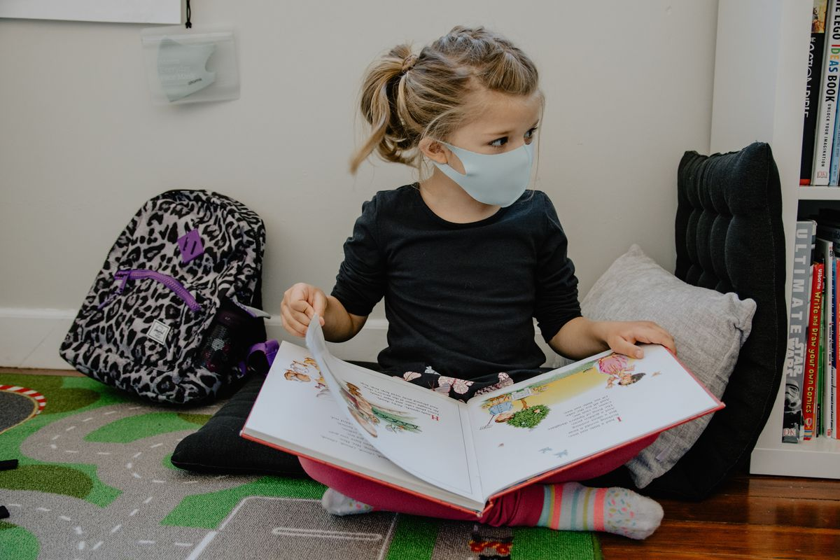 Do masks provide a genuine benefit to school children without causing harm?