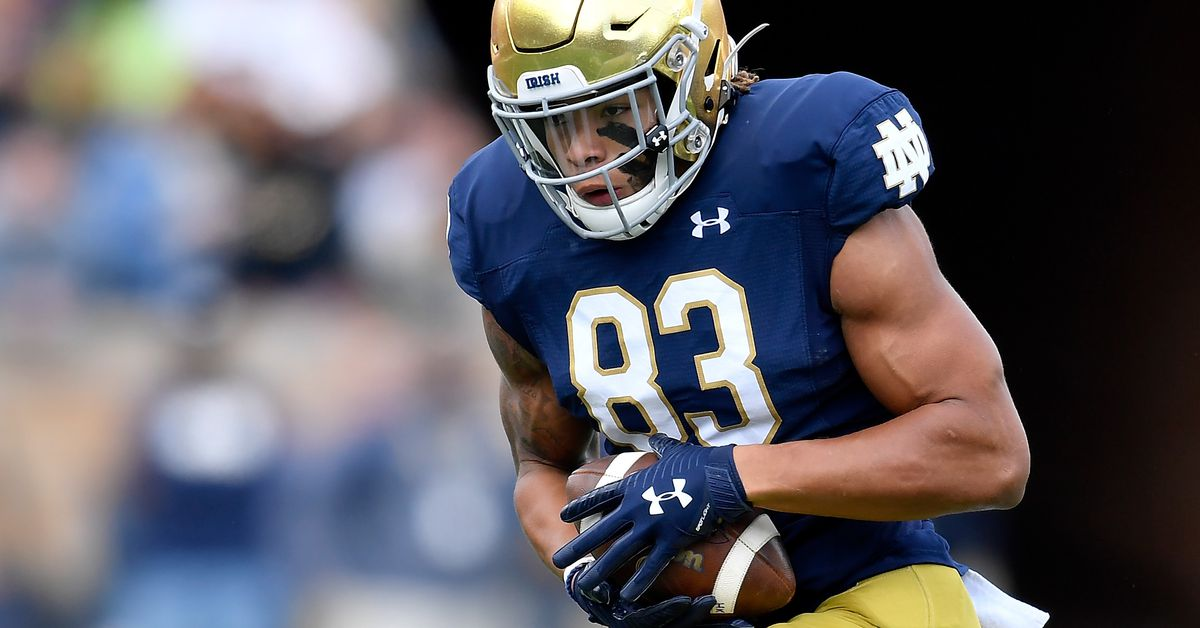 Colts Listed as ESPN's 'Best Fit' for Notre Dame WR Chase Claypool