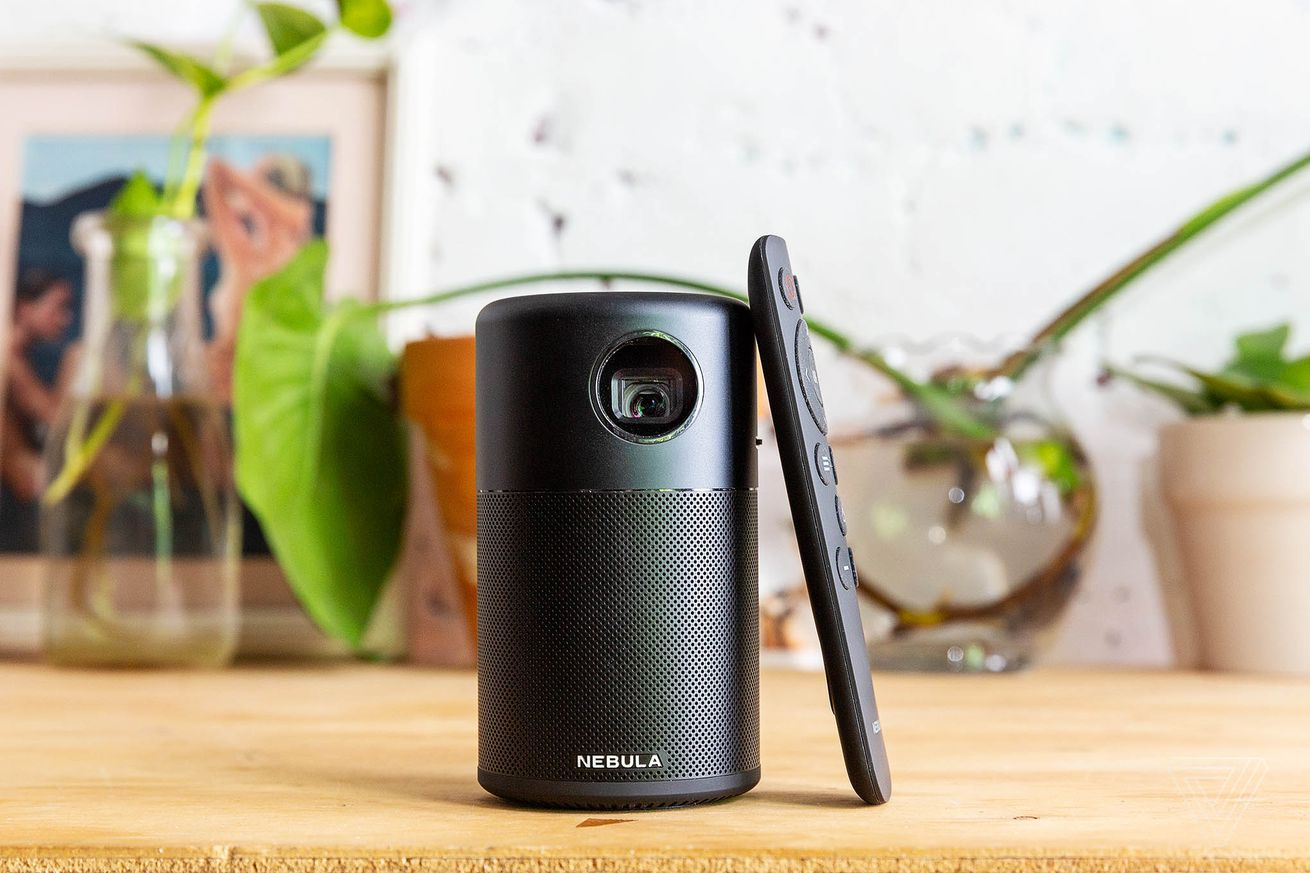 anker s mini projector with android built in is 80 off
